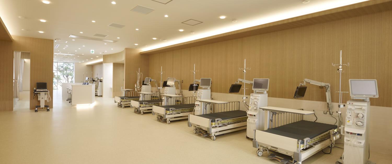 最新の透析機器により安心、安全な透析治療